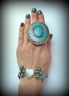 Turkoman Ring Tribal Ring Kuchi Ring Ethnic Ring by DancingTribe, $25.00