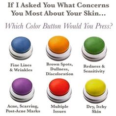 What's your biggest skin concern?  Click on this picture and take the Solution Tool on my website. Be sure to enter your email address to receive your personal results and a free gift from me just for using the Solution Tool - sviggiano.myrandf.com