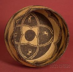 Southwest Coiled Basketry Bowl | Apache, c. second quarter 20th century