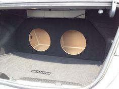2011+ Hyundai Elantra Sub Subwoofer Box Speaker Enclosure - Concept Enclosures