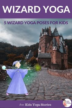 Wizard Yoga Poses for Kids What if your child isn't ready to dive into Harry Potter, but is curious about the mystery world of wizards and witches? 🧙♂️ Then try Wizard Yoga! 5 fun and simple yoga poses to try out with your children. Kids Yoga Poses, Cool Yoga Poses, Yoga Poses For Beginners, Yoga For Kids, Animal Yoga, Kinesthetic Learning, Yoga Themes, Kindness Activities, Harry Potter