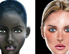"""Check out new work on my @Behance portfolio: """"Faces of the world"""" http://be.net/gallery/50500381/Faces-of-the-world"""