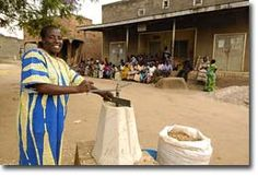 Permaculture Research Institute USA » The Full Belly Project provides a less labor intensive way to shell peanuts in Uganda