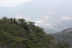the scene looked on the Deoksung mountain(Korean best 100 mountain) top......