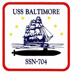 USS Baltimore (SSN 704) Ship Crest