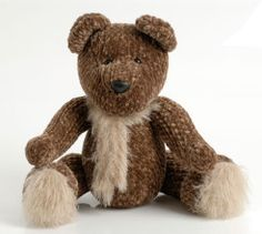 This sweet knitted, cuddly teddy bear is the perfect cuddle buddy for your child on winter nights. Knitted Teddy Bear, Crochet Bear, Vintage Teddy Bears, Cute Teddy Bears, Animal Knitting Patterns, Bear Patterns, Cuddle Buddy, Knitting Projects, Knitting Toys