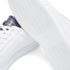 Zespa ZSP4 APLA Sneaker White & Marine | END. White Tennis Shoes, Mens Fashion, Sneakers, Moda Masculina, Tennis, Man Fashion, Slippers, Sneaker, Fashion Men