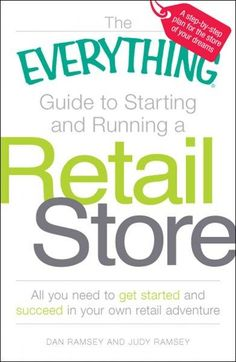 What are my start-up costs? How much will my store make? Should I sell online? How can I compete with larger stores? If you've ever considered owning a store but don't know where to start, The Everyth