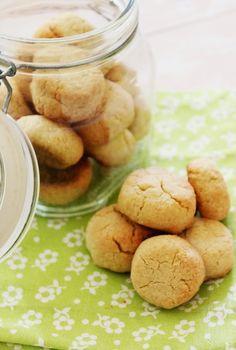 Cozinhadaduxa: Biscoitos de Amêndoa e Gengibre