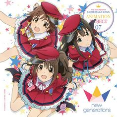 THE IDOLM@STER Cinderella Girls NEW GENERATION