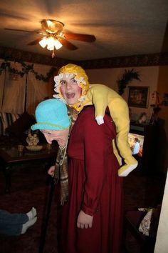 Hilarious Halloween costume