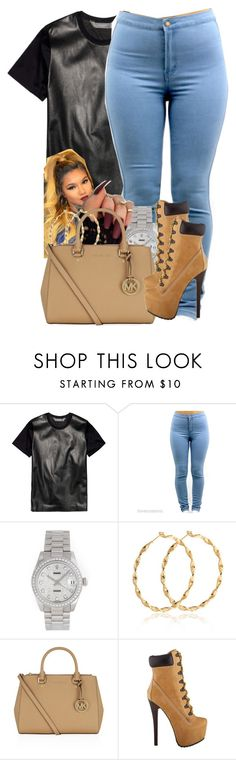 """Untitled #1689"" by isabellacarolina161 ❤ liked on Polyvore featuring Reed Krakoff, Rolex, MICHAEL Michael Kors, women's clothing, women's fashion, women, female, woman, misses and juniors"