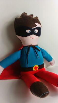 ajstoffenspulletjes: pakje: superman is in the house!