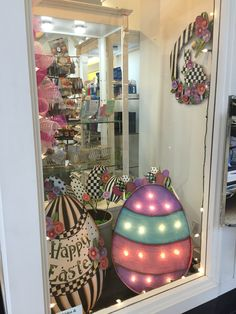 Easter Window Display 2016