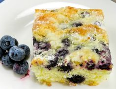 Blueberry Butter Cake! – My Incredible Recipes