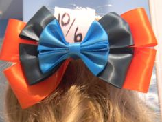 Mad Hatter Inspired Disney Bow by JordansBowtique on Etsy