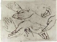 Vincent Van Gogh - manos