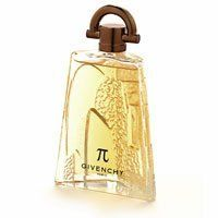 Givenchy Pi Cologne for Men 3.4 oz Eau De Toilette Spray by Givenchy. $59.99. Givenchy Pi Cologne for Men 3.4 oz Eau De Toilette Spray An alternative to the citrus scents of the 90's, Pi is a celebration of what makes a man seductive - his intelligence, courage, and contributions. Pi is more than a name, it's a symbol. The masculine bottle, designed by Serge Manseau, has a hi-tech closure system and plays on the contrast between pure lines and perfect proportion. ...
