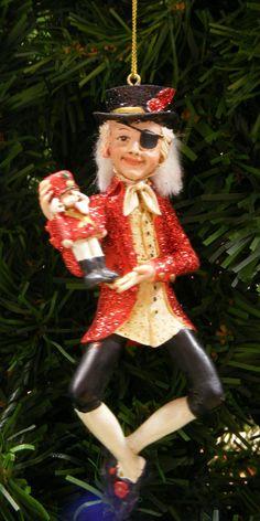 KURT S. ADLER DELUXE NUTCRACKER RESIN DROSSELMEIER CHRISTMAS ORNAMENT  in  | eBay!