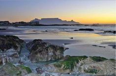 Cape Town from Blouberg Strand . Places Around The World, Around The Worlds, Lush Garden, Places Of Interest, Cape Town, Live, West Coast, South Africa, The Good Place
