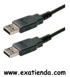 """Ya disponible Cable USB 1.8m 2.0 m/m    (por sólo 8.89 € IVA incluído):   -Tipo de cable: Comunicación de datos -Conector USB """"A"""" macho: 2 -Versión: USB 2.0 -Topología: Tipo """"A"""" -Tamaño: 2m  Garantía de fabricante  http://www.exabyteinformatica.com/tienda/1368-cable-usb-1-8m-2-0-m-m #usb #exabyteinformatica"""