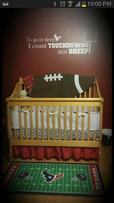 Texans nursery! But it would 49ers for my boy