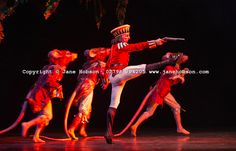 The Battle in Act 1 of Birmingham Royal Ballet's Nutcracker. Photo: Jane Hobson