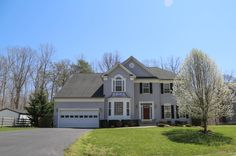 Large immaculate home backs to trees and in great community with estate homes. Features include; Extra Large Master Bedroom Suite w/ bonus room & newly updated bath with ceramic tile, gourmet kitchen w/ island, granite, new HVAC, hardwood floors throughout most of home, dual staircases, large gas fireplace in family room, large stamped concrete patio, palladium windows,&  http://www.realtor.com/realestateandhomes-detail/1045-Mourning-Dove-Ct_Huntingtown_MD_20639_M63393-16060?ex=MD587984178
