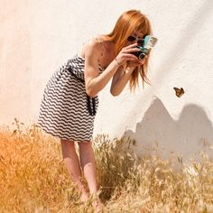 {the dress, the Diana, the butterfly} pretty.