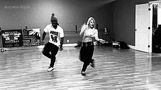 Amazing dancers: Janelle & Wildabeast Adams. i do it for the ratchets willdabeast adams gif
