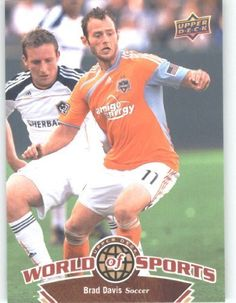 2010 Upper Deck World of Sports Trading Card # 68 Brad Davis - Soccer Cards - Dynamo by Upper Deck. $2.51. 2010 Upper Deck World of Sports Trading Card # 68 Brad Davis - Soccer Cards - Dynamo