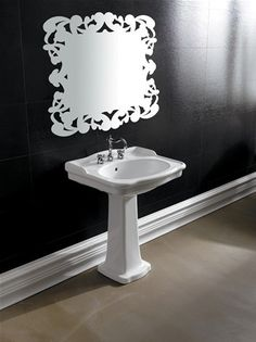 Bathroom Pedestal Basin - Ceramic Wash Basin 657mm x 550mm