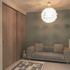 ☁︎. #リビングリセット 今日もよく頑張りました╰(*´︶`*)╯♡ おやすみなさい💤 Shiho, House, Design, Home Decor, Instagram, Decoration Home, Home, Room Decor