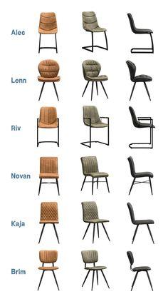 Bij je UMIX eettafel op maat ga je natuurlijk voor stoere, industriële eetkamerstoelen. Leen Bakker heeft een selectie gemaakt van 6 modellen in 3 verschillende kleuren. Alle stoelen zijn met elkaar te mixen en matchen, waardoor je een speels effect krijgt in je eethoek. Bekijk alle stoelen via de link en kies jouw favoriet(en). Furniture Board, Retro Furniture, Home Decor Furniture, Diy Home Decor, Diy Flooring, Terrazzo Flooring, Dining Chairs, Dining Room, Modelos 3d