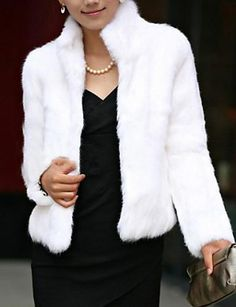 c015b530d 2015 New Sale Rabbit Fur Coat Winter Real Rabbit Fur Jacket High Stand  Collar Rabbit Fur Outwear