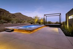 Levin II Residence contemporary pool