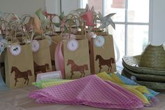 """Photo 6 of 29: Ponies, Shabby Chic, Old Fashioned Fun! / Birthday """"Pretty Pony Party"""" 
