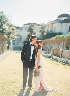 Bride & groom portrait // Taylor Lord Photography // via Ruffled