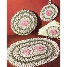 Crocheted Hot Pad Pattern Rooster   Free Crochet Patterns for Babies