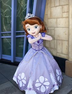 Sofia the First Has Arrived at Disney Parks. I know a little girl who is going to be soo excited