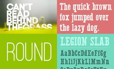 Free Crazy Ass Fonts Series 3 // Via @mywebneel //