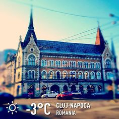 """See 813 photos and 21 tips from 11515 visitors to Cluj-Napoca. """"as for the winter in this country is really wonderful weather, the sun in the sky, a. Fall Winter 2014, Winter Collection, Romania, Four Square, Barcelona Cathedral, Louvre, Projects, Travel, Houses"""