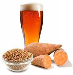 Gluten Free Homebrew! Sweet Potato Buckwheat Ale Recipe | E. C. Kraus #Homebrewing Blog