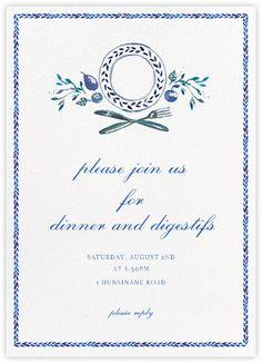 Plat du Jour - Paperless Post : sweet little girls' brunch invitation