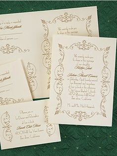 Celebrity Weddings: Affordable Alternative to Tamra Barney's Wedding Invitation #celebrity #wedding #invitations