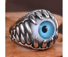Blue eye ring rings 5