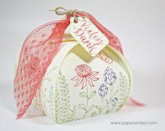 Wildblumenbox mit dem Stempelset Flowering Fields von Stampin Up!