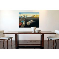 DALÌ - Persistenza della memoria 80x60 cm #artprints #interior #design #art #print #iloveart #followart  Scopri Descrizione e Prezzo http://www.artopweb.com/categorie/arte-moderna/EC15142