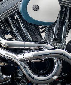 The Bel Air 1200 Framer: A Harley Sportster cafe racer by Deus