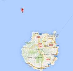 Terremoto Atlántico Canarias, noroeste Gran Canaria